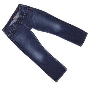 Silver Jeans Santorini Crop Jeans, Dark Wash, 29